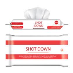 Shotdown-desinfectiedoekjes